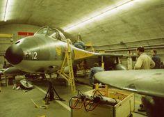 Post War Era, Swiss Air, Hunters, Air Force, Pilot, Aviation, Aircraft, Military, Sky