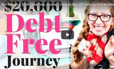 Find motivation to start your own debt free journey through watching what this family did right, wrong, and the major trials they had to overcome in order to become DEBT FREE! This family paid off over $16,000 in debt in just one year in order to become completely debt free! Freedom!!! #debtfree #debt #budget