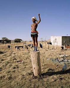 "From ""Zulu kids"" series by Swiss-Guinean photographer Namsa Leuba"