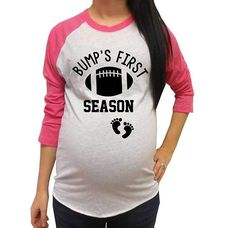 0eb6afc1c The cutest pregnancy maternity shirt for a football fan! This shirt is  perfect for any