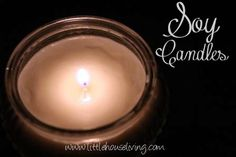 Post image for Soy Candles – How to Make Homemade Candles