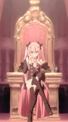 Krul Tepes - Mika's disappointed Mom