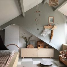 my scandinavian home: A Dutch bedroom in neutral colours, infused with warmth and harmony Hygge, Deco Kids, Scandinavian Home, Kid Spaces, Cheap Home Decor, My Room, Room Inspiration, Kids Bedroom, Room Decor