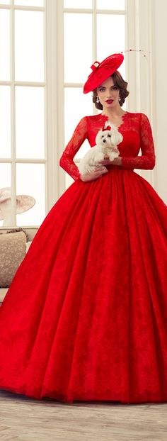 Bridal Designs By Tatiana Kaplun - That Lady In Red ~