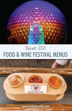 Epcot's Food and Wine Festival is back for 2021, but will look very different. However, the global marketplace food booths will still be around to enjoy delicious treats. Here are the menus for Food & Wine 2021!