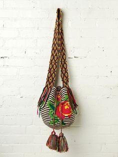 Wild Rose Crossbody - Handmade in Colombia