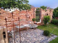 Bildergebnis für steinmauer garten mit fenster | Terrasse ...