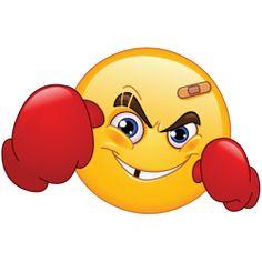 fighter emotion sticker