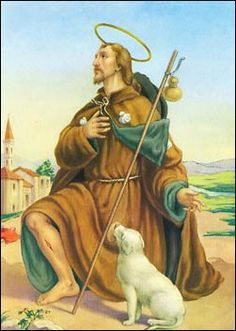 St. Rocco.The statue of Saint Rocco is considered unique among theologians…