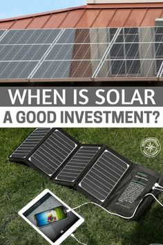 When Is Solar a Good Investment? - While many Americans claim they don't understand wall street, stocks and investments, I think solar power has proven that many people do. When it comes to solar power we are all waiting for the right time to buy in. Its like a stock we want solar power to be at its most efficient before we outfit our homes with it. #prepping #preparedness #prepper #survival #shtf #homestead #homesteading #solar
