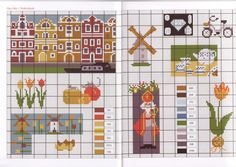 Netherlands/Nederland/Holland themed cross stitch