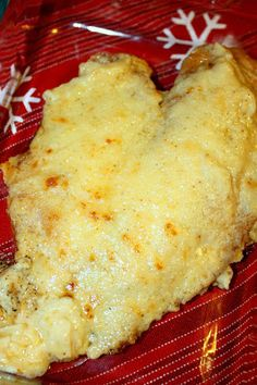 Daktari's Diner: Parmesan Enrusted Talipa