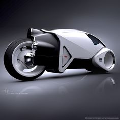 Hollywood: Vintage Lightcycle design for Tron Legacy