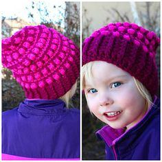 I created this slouch hat to match the Hermosa Wristers and Scarf that I had made. I realized I didn't have a matching set of anything to wear, so I created one!