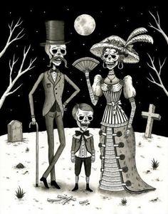Dia de los Muertos....en la noche!