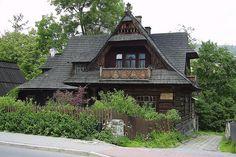 Zakopane, Poland, come on with this beautiful house.