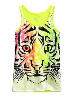ANIMAL FACE TANK | GIRLS {CATEGORY} {PARENT_CATEGORY} | SHOP JUSTICE