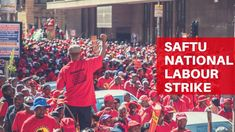 The South African Federation of Trade Unions (Saftu) today marched in various cities around Africa. South Africa
