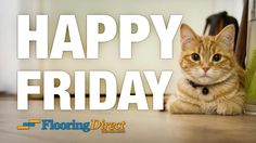 Happy Friday from the Flooring Direct family! Need to contact us during the weekend? Just call 888-466-4500 to leave a message and one of our staff will get back to you as soon as possible. http://flooringdirecttexas.com/happy-friday-and-have-a-great-weekend/ #flooring #DFW