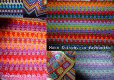 I Love Moss Stitch