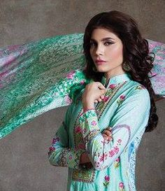 Sapphire Cambric Suits Collection 2015 Blossom Orchid A