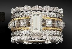 SICKENING! ~Eternelle ring Bucce chopard...oh my...this is grand! ♥༺♡༻♥