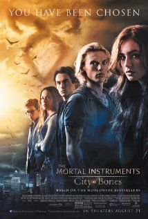 The Mortal Instruments: City of Bones (2013) can't wait to see this. or to get the soundtrack. #cityofbones #shadowhunters #AFI