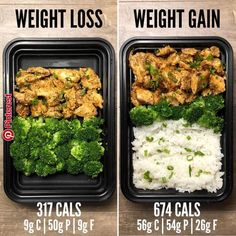 Weight Loss vs Weight Gain with Garlic Sriracha from Page 75 of The Meal Prep Ma. Weight Loss vs Weight Gain with Garlic Sriracha from Page 75 of The Meal Prep Minute Meals eBook. If you missed the post earlier… Lunch Meal Prep, Healthy Meal Prep, Healthy Snacks, Healthy Eating, Eating Vegan, Healthy Nutrition, Nutrition Tips, Meal Prep Low Carb, Simple Meal Prep
