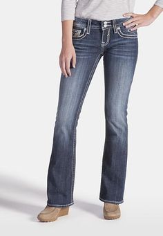 vigoss � back flap pocket bootcut jeans (original price, $68) available at #Maurices