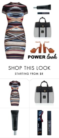 """Power Look"" by ella178 ❤ liked on Polyvore featuring Hervé Léger, Henri Bendel, Etude House, Tabitha Simmons and MyPowerLook"