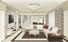 Проект обновления интерьера #Living room, #designInterior, #design, #interior, #vizantiya, #дизайнИнтерьера, #интерьер, #дизайн, # гостинная