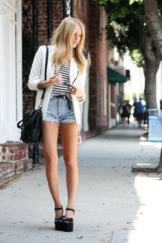 Stripes, cutoffs, bow wedges