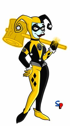 Sinestro Corps - Harley Quinn?!