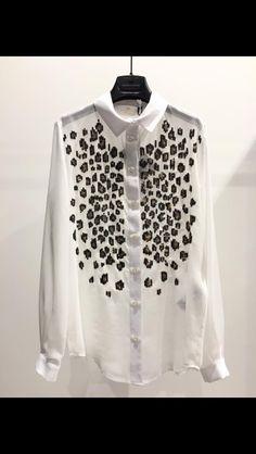 Camicia Elisabetta Franchi nuova collezione PE 2016 i fo e order waths app 3936222623