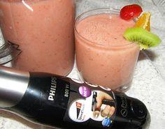 W Mojej Kuchni Lubię.. : domowe mleko owsiane z owocami...