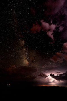 Stars Above, Thunder Below by Christopher Eaton  Source: 500px.com