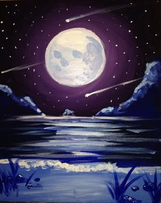Paint Nite | SHOOTING STARS