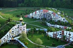 Hundertwasser, his theory for architecture, harmony between human and nature !