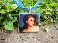 Fine Art Tile pendent Necklaces by moonknightjewels on Etsy, $10.00