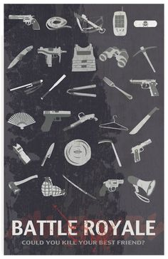 Awesome Battle Royale poster.