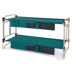 Foldaway Bunk Bed - Summer is coming and with it comes camping season. While there's nothing wrong with an old-fashioned tent, why not camp in comfort and style . Camping Car, Camping Survival, Camping Ideas, Camping Hacks, Adult Bunk Beds, Kids Bunk Beds, Camping Bunk Beds, Modern Bunk Beds, Cool Bunk Beds