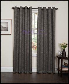 ME Lattice Thermal Blackout Grommet Top Window Curtain Panels