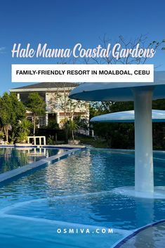 Solitude and Reflection at the Hale Manna Coastal Gardens in Moalboal. Accommodations in Moalboal, Cebu. Family-friendly resort in Cebu Province that is worth traveling to.
