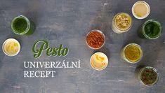 Pestrá pesta – recept na pesto téměř z čehokoliv Korn, Pesto, Palak Paneer, Meals, Ethnic Recipes, Meal, Yemek, Food, Nutrition