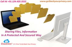 Sharing Files, Information In A Protected And Secured Way