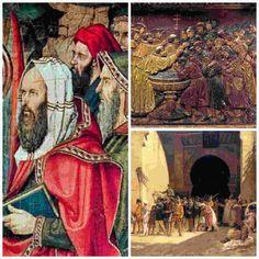 En la España del siglo V ya había una honda sima entre los iberorromanos y judíos prohibiéndoseles casarse con cristianas o comprar esclavos cristianos.