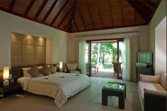 Garden Villa interior, Hilton Seychelles, Labriz Resort & Spa
