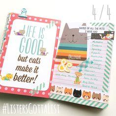 #ListersGottaList - April 4 - Scrapbook.com - Cat SN@P! Set