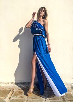 PRODUCTS :: BRANDS :: STELIOS KOUDOUNARIS :: STELIOS KOUDOUNARIS MAXI DRESS DRS.1065