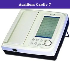 Ausilium Cardio 7. Features: - a4 size - 12 ch simultaneous display - wide and clear tft lcd (800x480) - touch screen for easy operation - adaptable ui (portrait and landscape mode) - over 130 kinds of interpretation results based on advanced minnesota code - memory for up to 120 patients - real-time preview monitor - pc compatible through lan - pace-maker detection 1 pc.